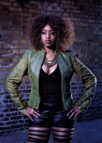 Music Artist Portrait Photographer London – Singer Tasita D'Mor