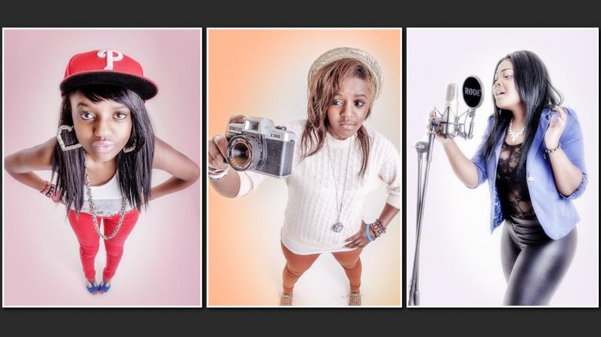 Artist and DJ portfolio photographer